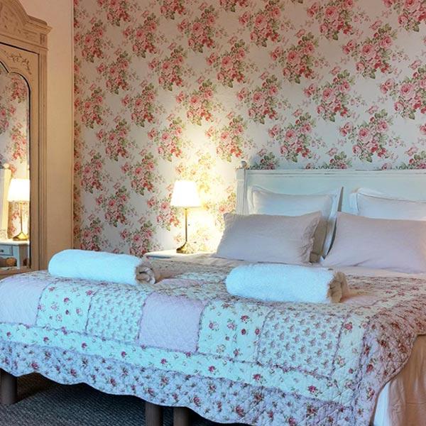 Chambre Capucine - Chambres d'hôtes Anjou Val de Loire - Quatre chats sous un pin